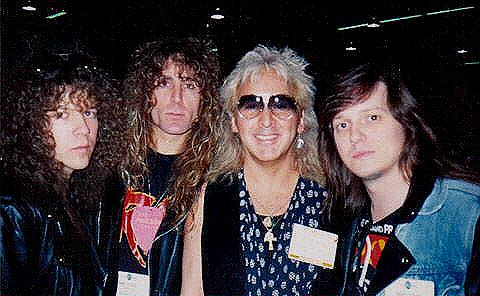 Geoff Thorpe, Mark McGee, Peter Criss, Dave Starr