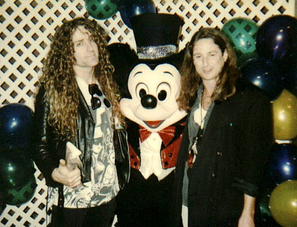 Mark, Mickey & Michael Rosen 1991